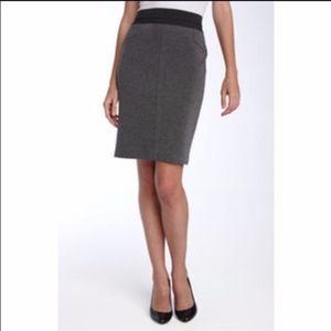 BCBGMaxAzria ponte knit zip pencil skirt XS S